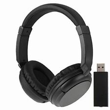NEW Sales 2.4G Hz Wireless TV Headset Over-Ear Headphone for TV Computer RLaptop