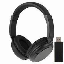 NEW Sales 2.4G Hz Wireless TV Headset Over-Ear Headphone for TV Computer Laptop