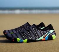 Mens Surfing Slippers Sneakers Swimming Water Sports Aqua Seaside Beach Shoes