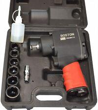 1/2 HEAVY DUTY COMPACT PNEUMATIC AIR RACHET/IMPACT/RATTLE GUN +SOCKETS (RPW198)