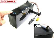 Softpack Akku Li-Ion 24V (25,2V)13,8Ah 35E 7x4 Golf Elektro Caddy LED 3XLR+LG 2A