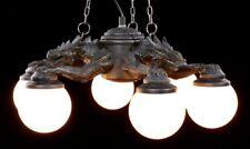 Lámpara de techo - tres dragones con seis luces - FANTASY GOTHIC Lámpara
