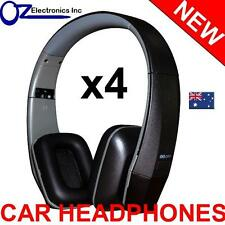 4x UNIVERSAL IR Infrared Headphones compatible with CLARION IR700 CAR DVD player