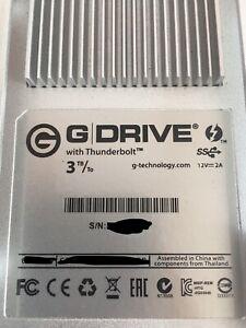 G-Technology G-Drive Thunderbolt 3TB,External,7200RPM (0G05024) Hard Drive
