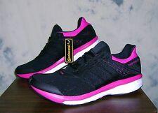 New ADIDAS BOOST SUPERNOVA GLIDE Techfit Sz 11 Women Shoes Black/Pink FAST SHIP!