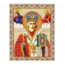 KD_ FH- 5D DIY Diamond Painting Cross Stitch Religion Icon of Leader Diamond D