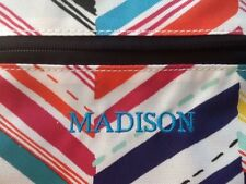 New (Madison) Pottery Barn Kids Colorful Classic Lunch Bag Box Tote Pbt