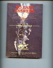 br- NO EASY ANSWERS: The Navies of India, Pakistan, J Goldrick, ,     HBdj  VG