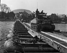 Nordhausen Germany US Army Sherman Tank Bridge WWII John Florea Photo Fl14