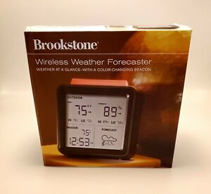 New Brookstone Wireless Weather Forecaster 683219 Weather At A Glance