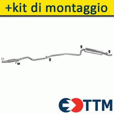 FIAT SEICENTO HATCHBACK 1.1 54HP 2000- Silenziatore Marmitta Posteriore+