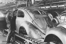Volkswagen Beetle –  VW Bug – VW Käfer – 1947 assembly in VW factory – photo