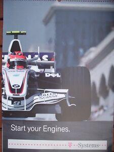 Toller großer  Formel 1 Kalender aus 2008