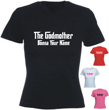 The Godmother Your Name personalised Tshirt