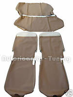 KIT FODERE COMPLETE IN SIMILPELLE BEIGE FIAT 500 F
