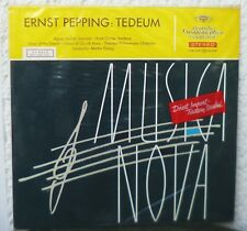 DGG  RED STEREO  Ernst Pepping - Tedeum   unplayed sample copy LP  Agnes Giebel