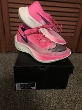New! Nike Air ZoomX Vaporfly NEXT% M11.5 Pink Marathon Running Shoe AO4568 600