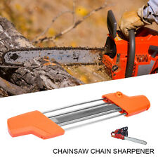 2 in 1 Easy File Chainsaw Teeth Sharpener PowerSharp Bar-Mount Fast Sharpening