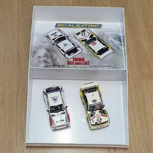 Scalextric 1:32 Car - C3480A 1986 RALLYE MONTE-CARLO Limited Edition *LIGHTS*