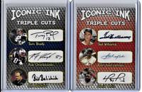 Brady Williams Yaz Gronk Ortiz Belickick Iconic Ink Facsimile Autograph Card