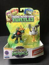 Teenage Mutant Ninja Turtles Half Shell Heroes Dojo Raph w/ Shredder Dummy MOC