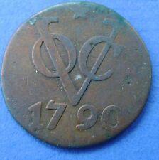 Utrecht - duit VOC 1790 mmt ster
