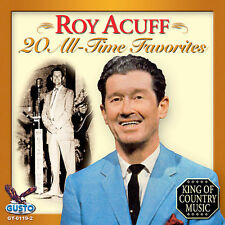 Roy Acuff - 20 All Time Favorites [New CD]