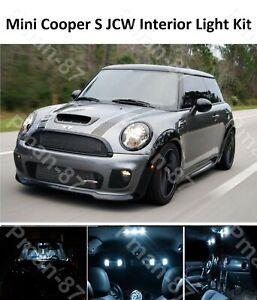 PREMIUM MINI COOPER S JCW R50 R53 INTERIOR WHITE FULL UPGRADE LED LIGHT KIT