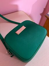 Dkny Green Leather Crossbody