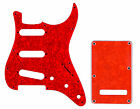 Stratocaster 11-Hole Scratchplate Pickguard SSS & Backplate Tremolo Cover Combo