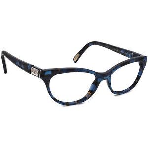 Dolce & Gabbana Eyeglasses DG 3118 1919 Marbled Blue Frame Italy 52[]16 140