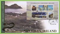 G.B. 2008 Celebrating N.I. m/s on Buckingham First Day Cover, Bushmills