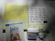 Complete 8½x11 Scrapbook Album and Kit to Scrapbook Your Baby in a Weekend