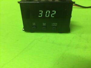 1996-2002 TOYOTA 4RUNNER PICKUP DIGITAL CENTER DASH CLOCK DISPLAY TESTED OEM