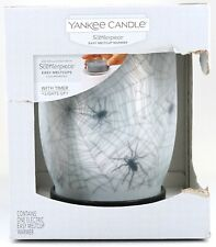 New Yankee Candle Scenterpiece Halloween Spiders & Webs Easy Melt Cup Warmer