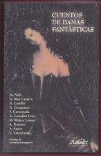 Libro Cuentos de Damas Fantástico. 2002