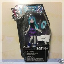 "Mega Bloks Blocks Monster High 3"" Twyla Figure Series Collection 2"