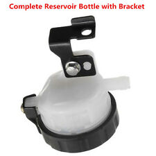 UNIVERSAL BRAKE RESERVOIR FRONT FLUID BOTTLE MOTORCYCLE MASTER CYLINDER BRACKET