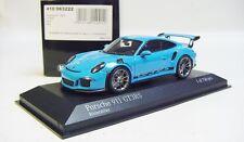 1:43 MINICHAMPS 2015 PORSCHE 911 991 GT3 RS Riviera Blue L.E.750 pcs. 410 063222