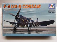 Italeri 1:72 Scale F-4 U4-B Corsair Korea 1950 / 52 Model Kit New Sealed # 062