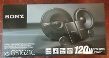 "Sony XS-GS1621C 6.5"" 2-Way Car Component Speaker System Tweeters +Mid-Woofers"