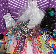 """Barbie & Other Fashion Doll Clothes Lot Of 60, Dollar Store, Lucky, Chic 11.5"""""""