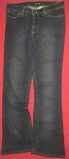 Frankie B Jeans Women's Size 6 Blue Denim Pants Low Waist With Pockets