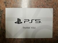 PS5 Sony Direct Preorder Bonus Thank You Avatar Code DLC **RARE** PlayStation 5