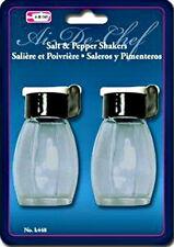 Salt & Pepper Shakers Set Glass Flip Top New Moisture - Kitchen Tools & Gadgets