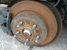 HOLDEN COMMODORE VE REAR DISC BRAKE ROTOR LEFT OR RIGHT RWC NO GROOVES