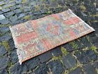 VINTAGE HAND WOVEN TURKISH RUG MADE IN 1950, CLEAN AND READY TO USE | 1,4 x 2,4