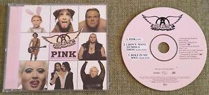 Aerosmith - Pink - UK CD Single