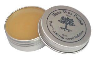 Bees Wax Polish - 100% natural  - 30ml  starter tin or 250ml larger size