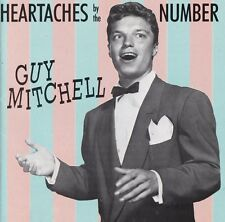 Guy MItchell OOP GER CD Heartaches by the number NM '90 Bear Family 25 Trks